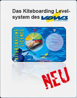 Kitesurfing-Levelsystem
